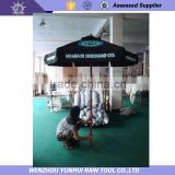 Timber /Wooden outdoor Umbrella canopy