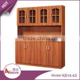 Foshan european style cheap kitchen cabinet storage complete modern mdf kitchen cabinet design with pvc