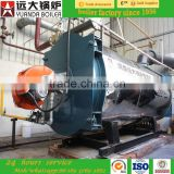 5ton Horizontal Style and Steam Output gas steam boiler