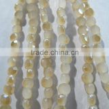 6mm Sales of color Bread crystal glass beads LB095