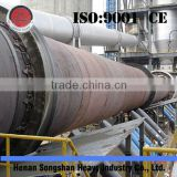 high capacity limestone or calcium aluminate rotary kiln from cement making machinery supplier or manufacturer