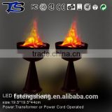 electrical led fire flame lamp artificial flame light for Hallowean