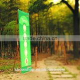 Patent design easy to use manufacturer bamboo X- banner 60*180cm