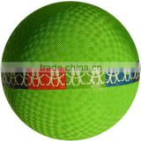 "Designer new products 8"" rubber playground ball"