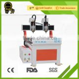 Mini CNC Router and desktop CNC router High precision best price advertising 6040 cnc router