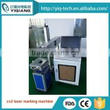 High marking speed Non-metal and metal portable 10w 30w CO2 laser marking machine