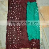 indian art silk bollywood sarees wholesale tie dye