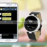 single location and continuous tracking support to achieve real-time smart watch phone with Bluetooth QWERTY Keyboard