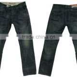 Hight quality new mens denim jeans pants men's blue straight fit jeans factory