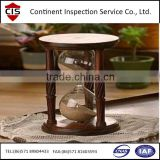 Solid Cocobolo Wood Hourglass,inspection services,final random inspection,during production inspection,loading supervision,QC