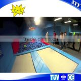 China Manufacturer Bungee Jumping Indoor Trampoline for Amusement Park