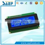 character type Monochrome 2004 LCD 20x4 display LCD module character screen blue backlight
