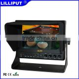 "Lilliput 7"" 663/P Vectorscope, Waveform, Peaking, False Colors, Histogram HDMI Monitor with Suitcase"