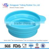Collapsible Dog Cat Pet Silicone Travel Feeding Bowl Water Dish Feeder