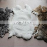 Raw Rabbit Fur / Natural Rabbit Skin / Rabbit Fur Material                                                                         Quality Choice