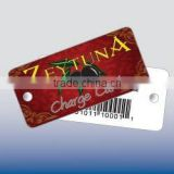 Composite Laminated Teslin Key Tag (Extra Large)