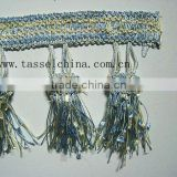 China Home Decorative Curtain Fringes Accessory; Curtain Valance Fringes; Cushion Fringes