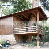 2015 Luxury mobile wooden house Fast Construction innovatively designed with Light Steel