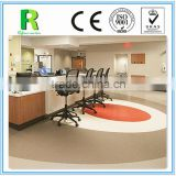 Anti-static wear resistant homogeneous vinyl flooring roll for hospital