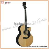 Hot Sale Professional Rich Experience Practical Solid Body Acoustic Guitar