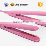 cheap price pink brazilian flat ceramic iron hair straightener                                                                         Quality Choice