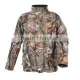 Camouflage Battery Heated Hunting Jacket