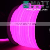 18mm IP68 360 degree led neon flex light 12V Pink color