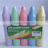 Wholesale jumbo sidewalk chalk in 5 color