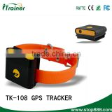 TK-108 newest good quality small waterproof gps pet tracker gps collar for dog