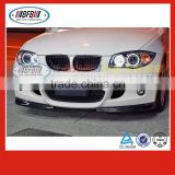 China manufacturer E81 carbon fiber splitter lip front bumper For Bmw E87 body kit 2005-2010