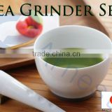 cookware kitchenware tea cups ceramic mortar and pestle japanese bowls matcha green tea powder pestle leaf grinder 76133