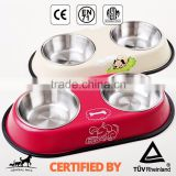 Wholesale Stainless Steel Dog Food Bowl with Rubber Ring                                                                         Quality Choice