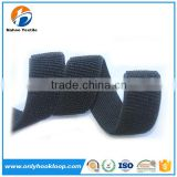 Elastic hook and loop belt / rubber hook and loop elastic bands / nylon elastic hook and loop band