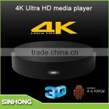 4K Ultra HD Media Player Android 4.4 Quad Core HD Sex Pron Video TV Box