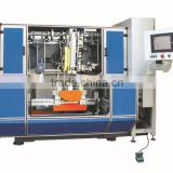 High Speed 5 Axis 3 heads CNC Brush Drilling and Tufting Machine/ Floor Brush Making Machine