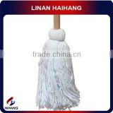 China manufacturer OEM old fashion hot sale cotton head wooden mop stick handle