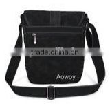 customized black mens canvas messenger bag messenger school bag canvas fashion school bags logo printed 14