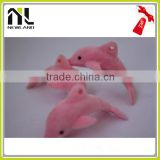 Factory New Lovely Flocking Miniature Animal plush dog toy/stuffed animal