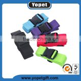 Cargo Strapping Belt With Plastic Buckle For Suitcase,Heavy Duty Extra Long Cross Luggage Strap