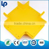 China OEM PVC or ABS plastic cable tray and trunking