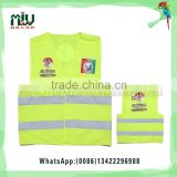 Leader Reflective Vest With Logo Custom For Election Campaign