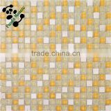 SMS03 Mediterranean style mosaic tile Hotel wall decorate mosaic Waterproof crystal mosaic tile
