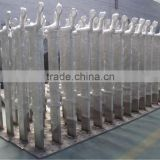 stainless steel railing balustrade/stainless steel rail balustrade/steel railing balustrade