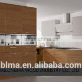 Cheap Melamine board modular Kitchen Cabinets design