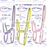 Adjustable Premium Nylon Halte Horse riding equipment with bridle ane rein in durable