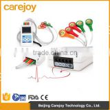 Factory price!!!CE Approved Advanced 3 channel 24-hour LCD ECG Holter recorder System with Software-Cardioscope