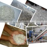 PET Plastic Bottle flakes / Hot washed / Fiber Grade
