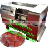 commercial beef strip cutting machine/frozen meat slice cutter/meat stick cutter machine