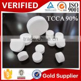 China swimming pools content salt tablets bactericide products chlorine dioxide powder