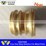 Yontone Ningbo Beilun OEM Aluminium Zinc Copper Iron Steel Stainless Steel Bronze Ductile Iron Grey Iron CNC Turning Brass Parts